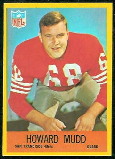 howard mudd rookie card  philadelphia  vintage