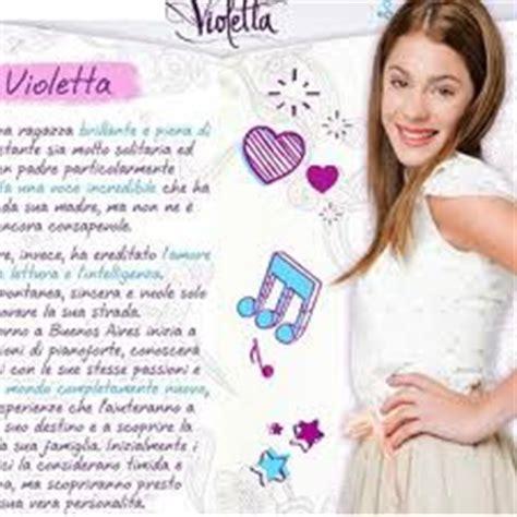 Testi Canzoni Di Violetta by Violetta Anteprima Canzoni Album Violetta