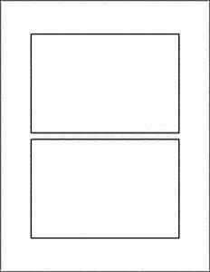 6quot x 4quot index card size labels standard white matte ol145 With 4x6 shipping label template