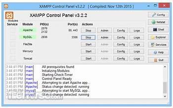 XAMPP screenshot #2