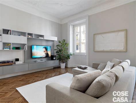 Interni Con Parquet 140 Mq Una Casa Con Pavimenti Originari In Parquet E