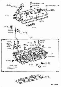 Toyota Mr2 Head Sub-assy  Cylinder