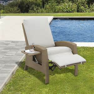 outsunny rattan sofa chair outdoor patio single wicker recliner garden furniture indoor with