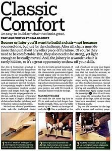 Armchair Plans • WoodArchivist