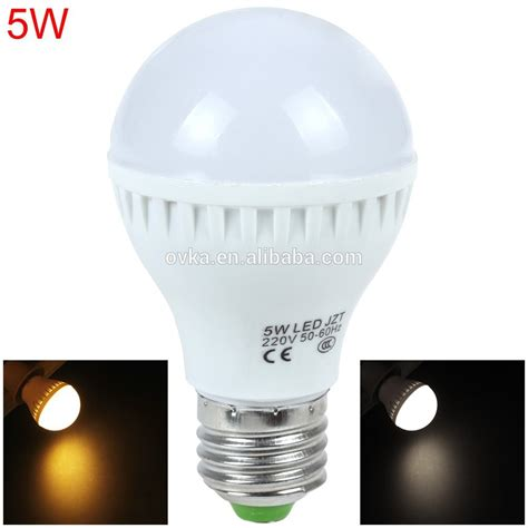factory price 5w led light bulb ce rohs smd 2835 e27 led