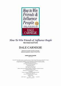 how to win friends influence people dale carnegie With how to win friends and influence people cover letter