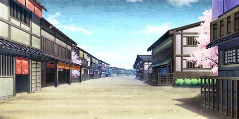 building city game cg kajiri kamui kagura scenic sky