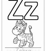 Zipper Coloring Drawing Printable Letter Getcolorings Getdrawings sketch template
