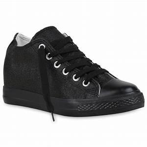 Schuhe Absatz Wechseln : sneaker wedges damen glitzer sneakers turnschuhe keil absatz 812556 schuhe ebay ~ Buech-reservation.com Haus und Dekorationen