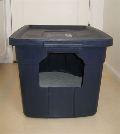cat box with lid litter box pet project