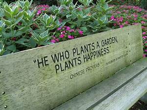 Quotes For Marc... Garden Happiness Quotes