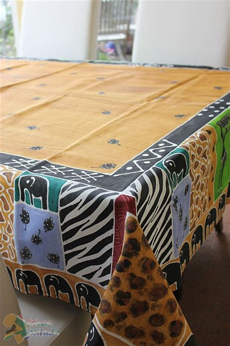 tablecloth african safari african attitude africa shop