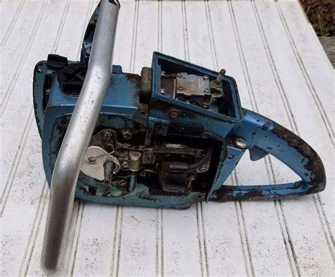 HOMELITE SUPER XL AUTO Chainsaw Parts Not Running #