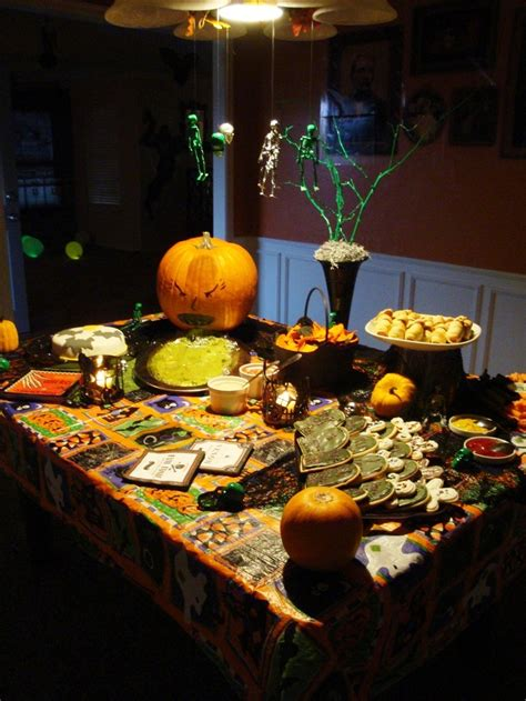 Halloween Food Table Decorations