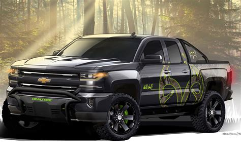 2016 Chevrolet Silverado Adds Hunting-inspired Realtree