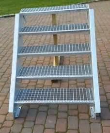 treppen verzinkt aussentreppe verzinkt treppen geländer ebay