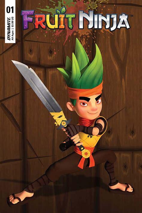 fruit ninja  game play cover fresh comics