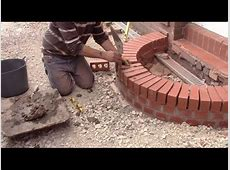 How to build a curved brick step YouTube