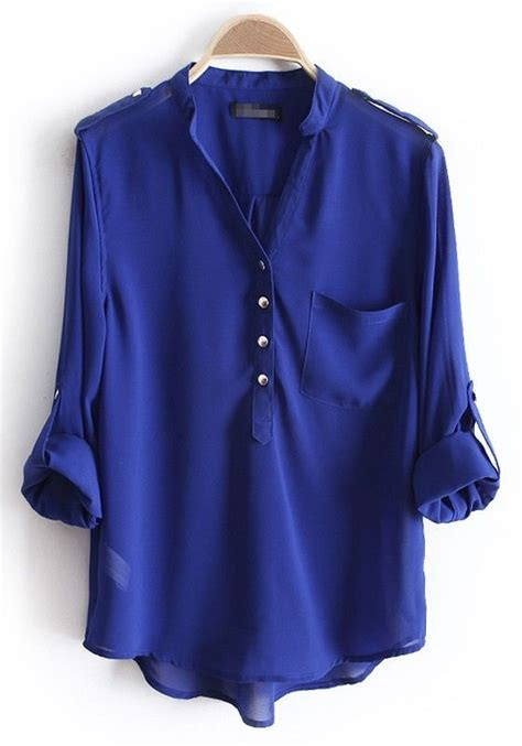 blue blouses pin by shannon on style