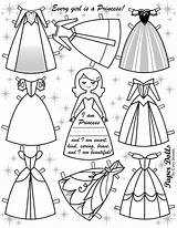 Paper Doll Dolls Coloring Frozen Disney Template Pages Printable Cory Templates Crafts sketch template
