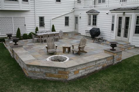 sitting wall natural stone patios sitting walls colonial stone natural stone masonry contractor