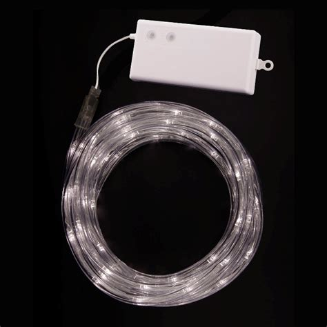 battery operated rope lights tube lights warm white