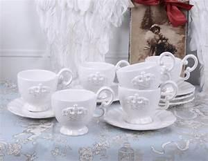 Geschirr Mit Tiermotiven : porzellan tassen 6 st ck teetassen service kaffeeservice weiss geschirr krone ebay ~ Sanjose-hotels-ca.com Haus und Dekorationen
