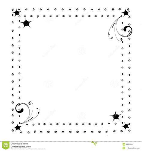 cute page border frame stock illustration illustration