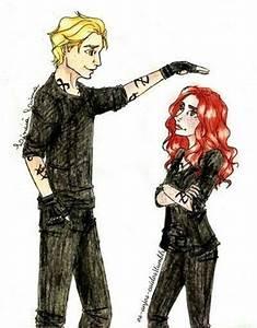 Jace & Clary fan-art | Shadowhunters. | Pinterest | Fans ...