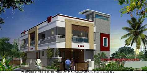independent house exterior designs  arumbakkam chennai