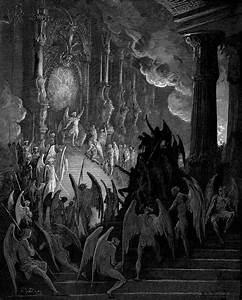 Satan in Council, c.1868 - Gustave Dore - WikiArt.org