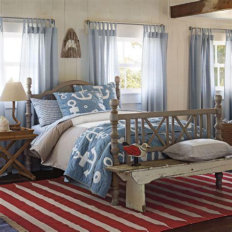 Boys Nautical Beach House Upscale Coastal Home Bedroom