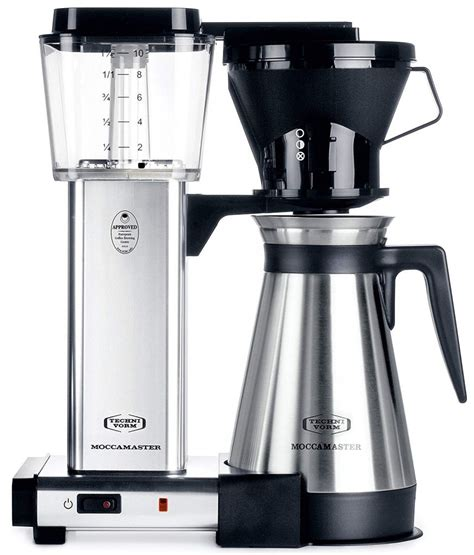 The powerful heater maintains the precise brewing temperature of 198f to 205f as set by the sca standards. 15 Best Drip Coffee Maker Reviews - Top Rated Picks 2019 - Easy Buyers Guide