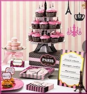 french party  paris themed party supplies  decorations