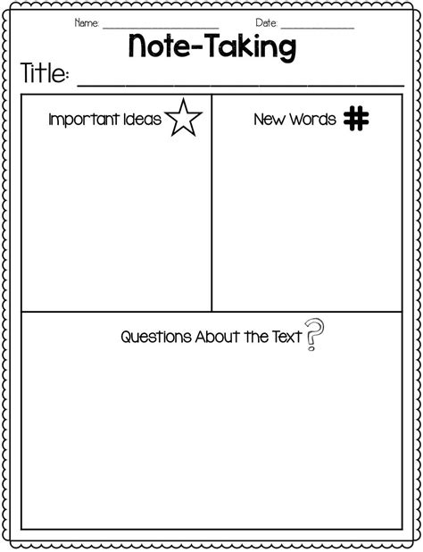 Great Freebie For Notetaking  Close Reading!  Reading  Reading Notes, Close Reading, Reading