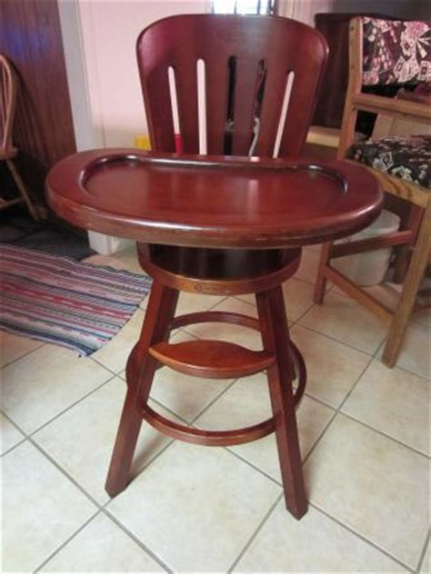 graco cherry wood high chair craigslist area