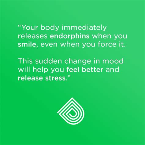 happiness quote  body immediately releases