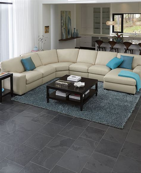 Leather Living Room Furniture Collection Review by Fabrizio Leather Sectional Sofa Living Room Furniture
