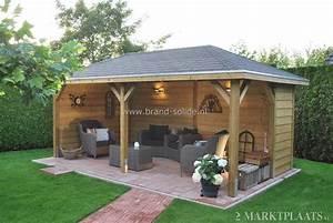 overkapping tuin en tuinideeen pinterest terrasses With nice amenagement de piscine exterieur 6 terrasse couverte vieux bois