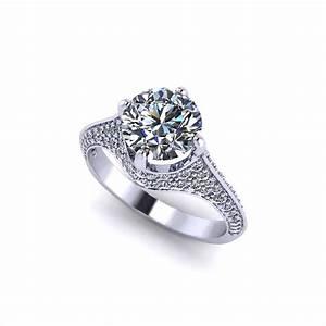 elegant pave engagement ring jewelry designs With elegant wedding ring