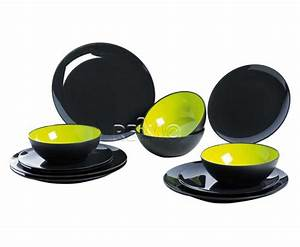 Teller Set Grau : melamin teller set 12 teilig f r 4 personen grau ~ Michelbontemps.com Haus und Dekorationen