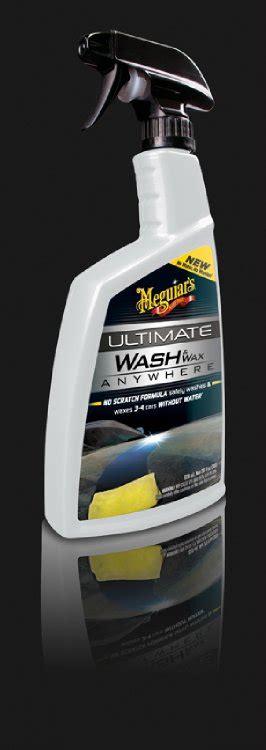 waschen ohne wasser meguiar s pflegeprodukte revolution waschen ohne wasser mit dem wash wax anywhere automobil