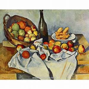 Still Life with Basket of Apples - Paul Cezanne - Paul ...