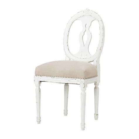 chaise m 233 daillon en et bois massif h 233 loise maisons du monde