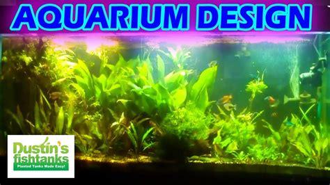 How To Aquascape A Planted Tank - how to set up a planted aquarium design desiging a