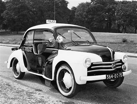 Renault 4CV Police Pie (1953-1956)   l'automobile ancienne