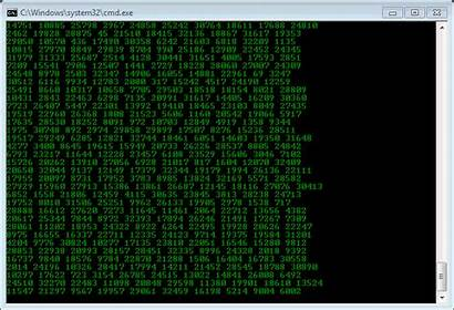 Matrix Code Falling Demo Binary Moving Rain