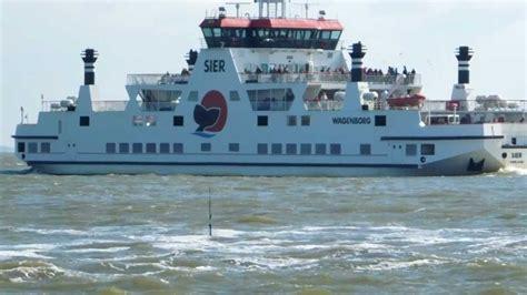 Boot Vanaf Ameland by Veerboot Sier Vertrekt Om 16 30 Vanaf Ameland 2 Youtube