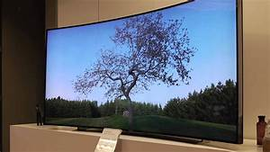 Ces 2014  Samsung Bendable Oled Tv  105