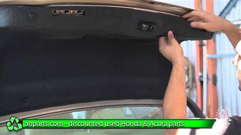 install change trunk lock latch